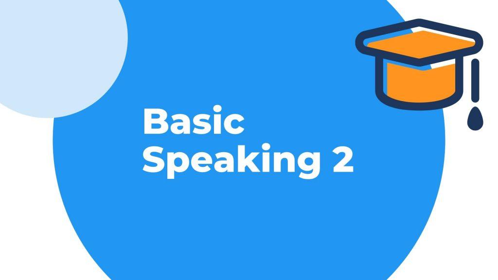 Belajar speaking 2 percakapan dasar dan common expression